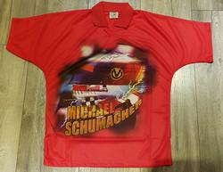 Schumacher Signed 'Close Up' Shirt