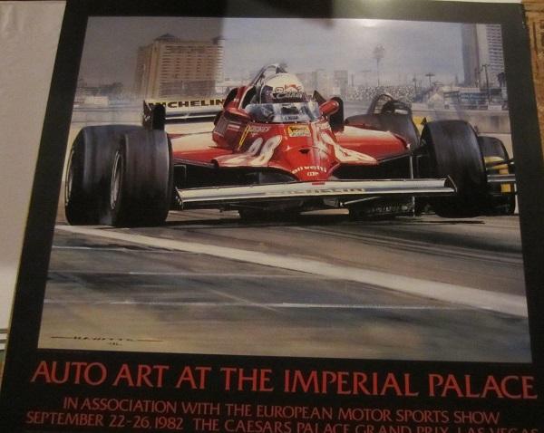Autoart 1982 Ferrari Poster