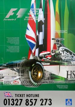 Silverstone Poster 2000 Original