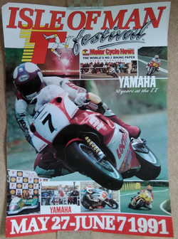 Original 1991 TT Poster
