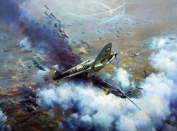 Battle Over London 1940- Frank Wootton