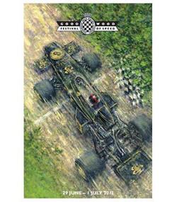 Original Goodwood Festival Of Speed 2012 Poster