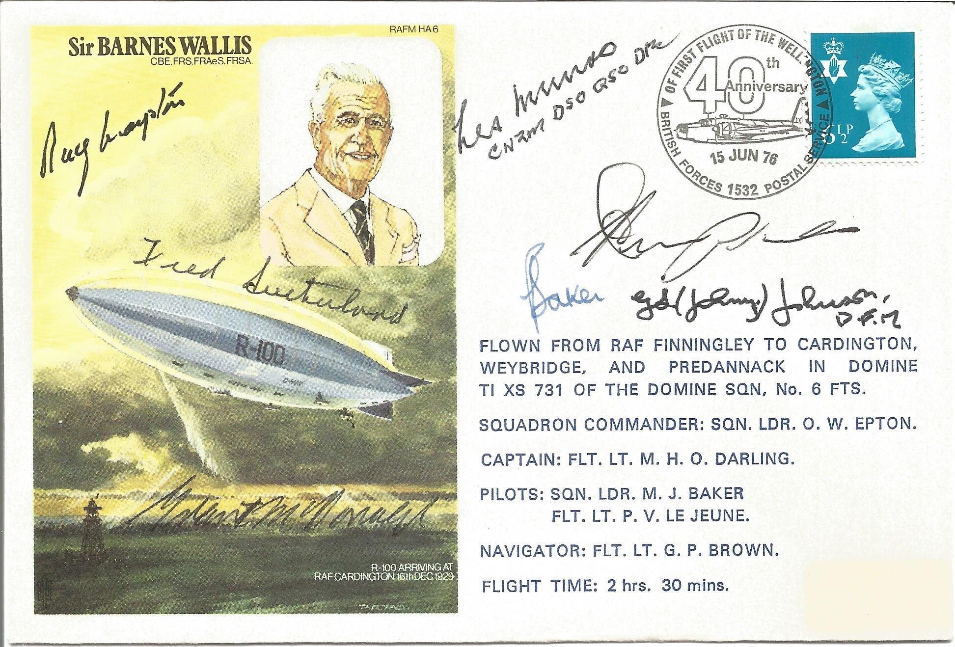Multi Dambuster Signed-Barnes Wallis FDC