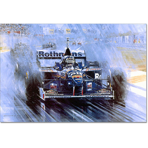The Making Of A Champion Signed Damon Hill -N.Watts
