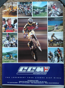 CCM Bike Poster