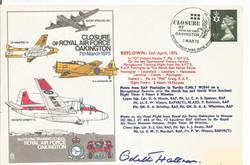Closure of RAF Oakington-Odette Hallowes