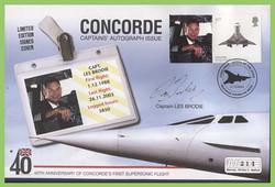 Concorde Les Brodie FDC