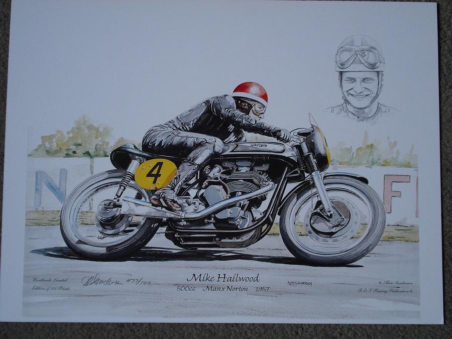 Mike Hailwood - Norton