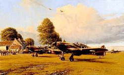 Front Line Hurricanes-Robert Taylor
