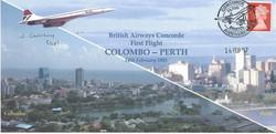 Concorde John Chorley Signed