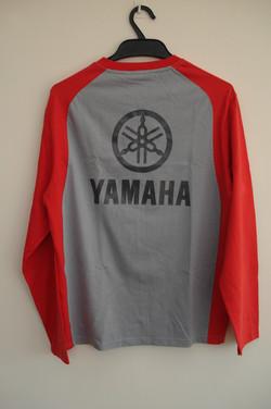 Long Sleeved Yamaha Shirt