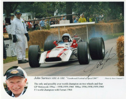 Surtees Goodwood 2007-Signed