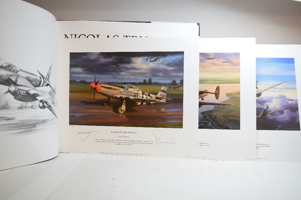 Trudgian Aviation Pencil Book Limited Ed Prints