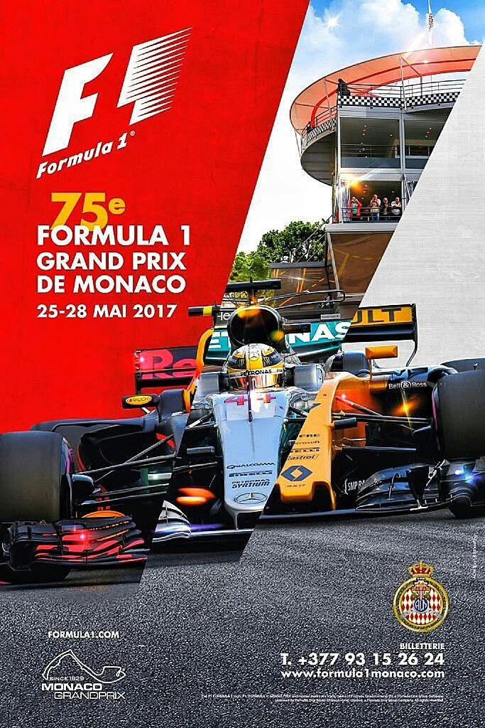 Original Monaco 2017 Poster