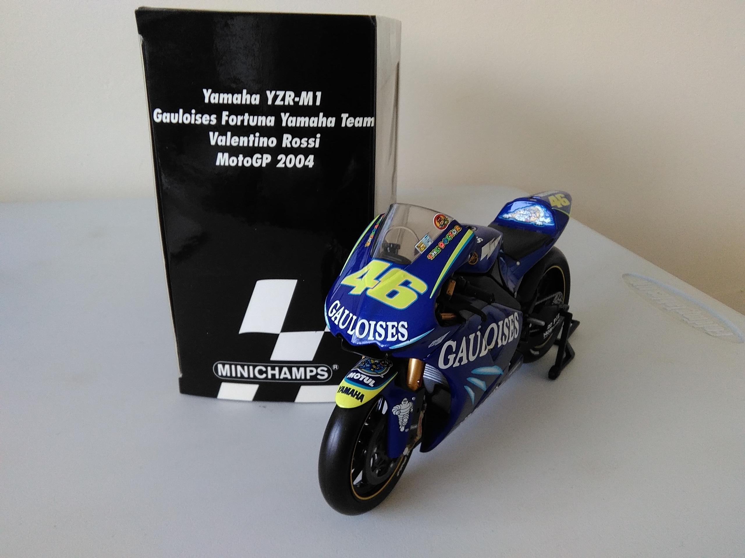 Valentino Rossi 2004 c/w Gauloises Decals