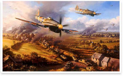 Typhoons At Falaise - N.Trudgian