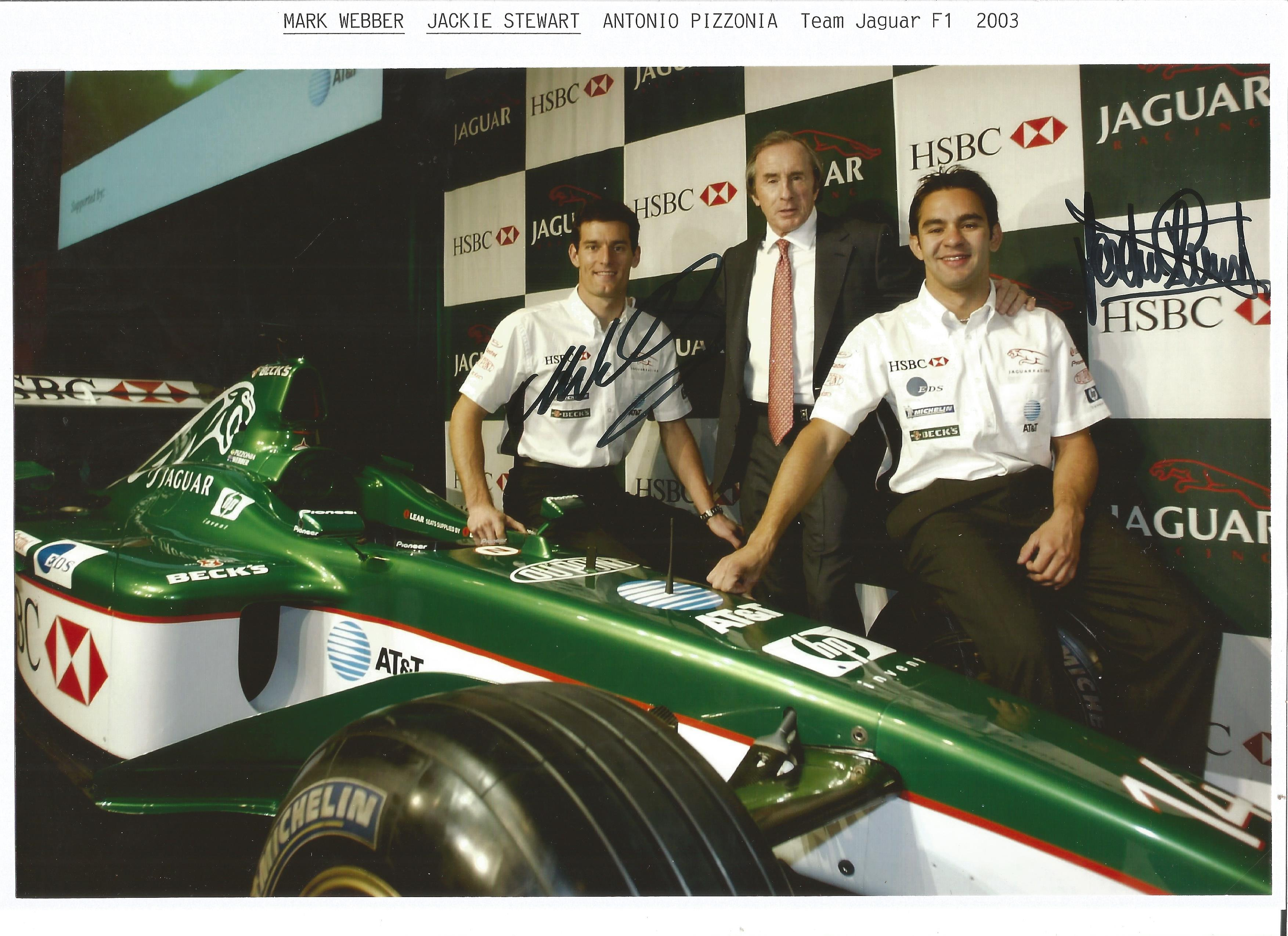 Jaguar Race Team 2003-Stewart-Webber Sig