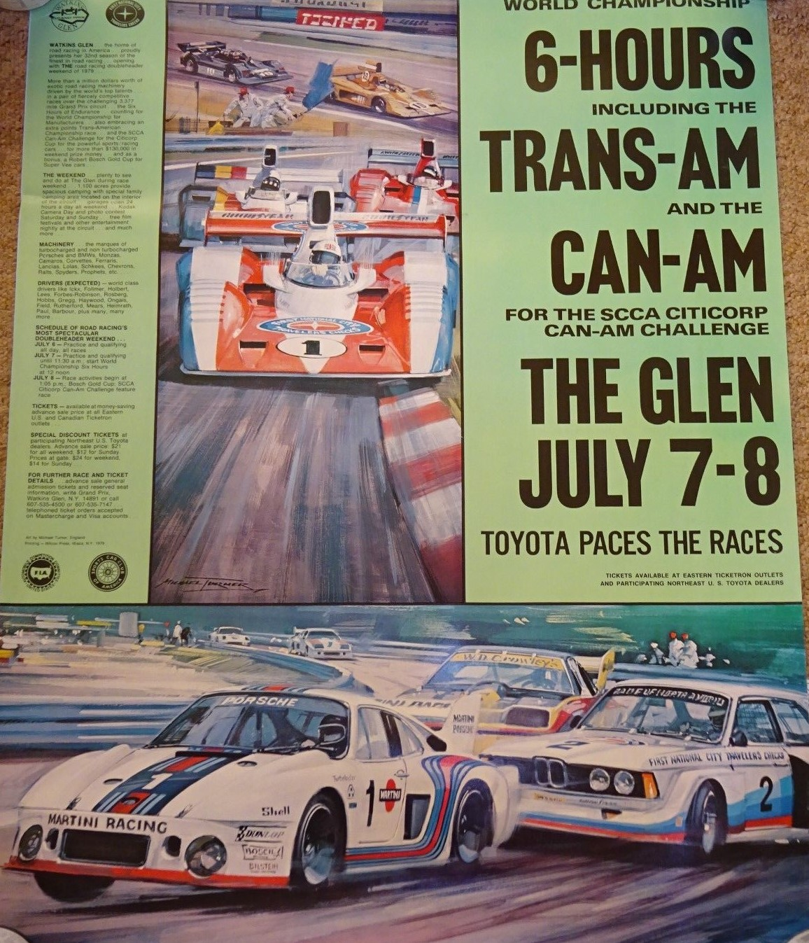 1979 Can-Am Poster
