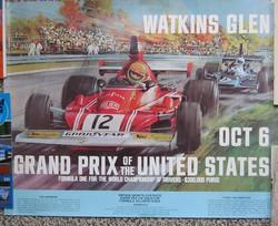 1974 Watkins Glen Poster