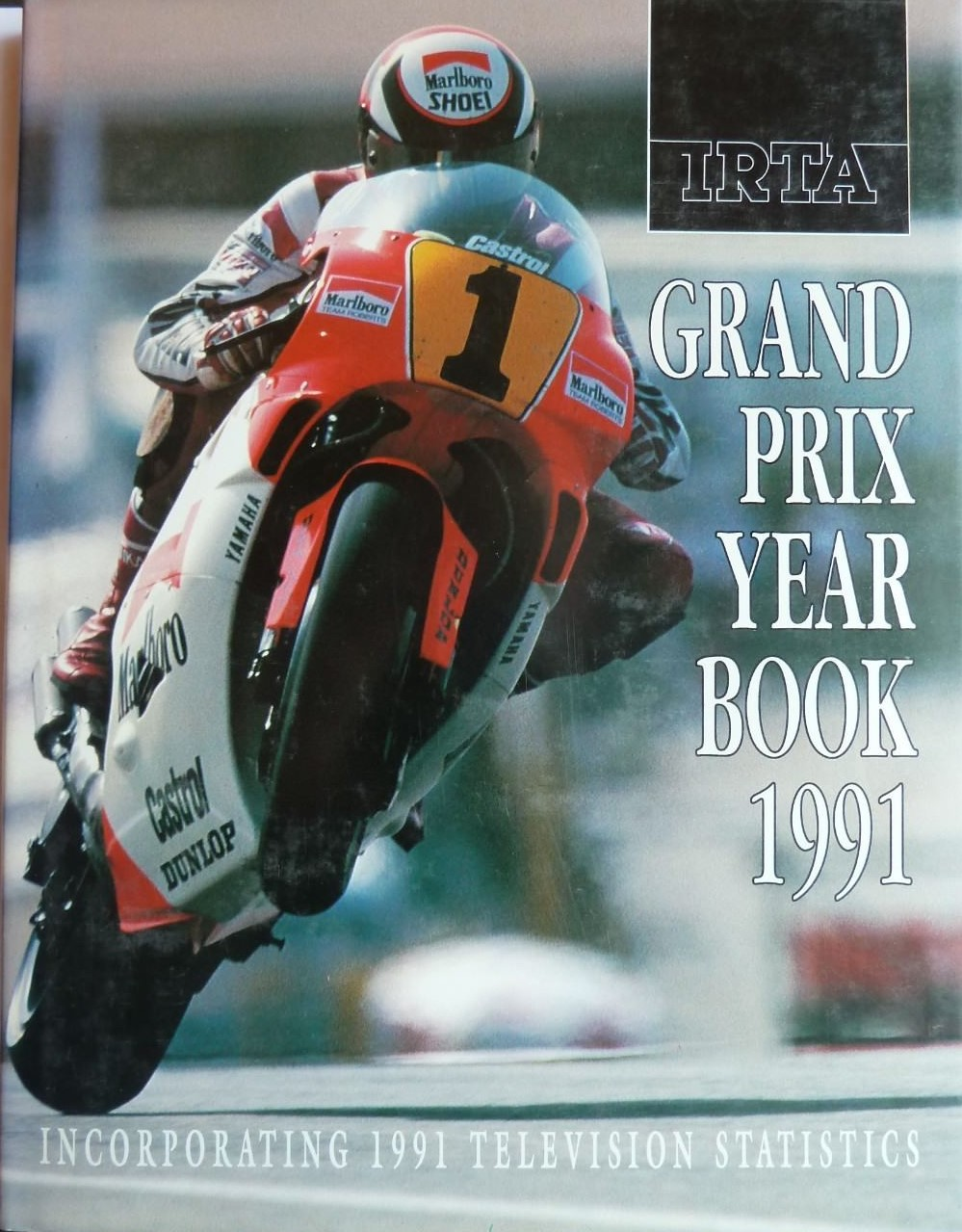 IRTA GP Yearbook 1991 Signed by Rainey