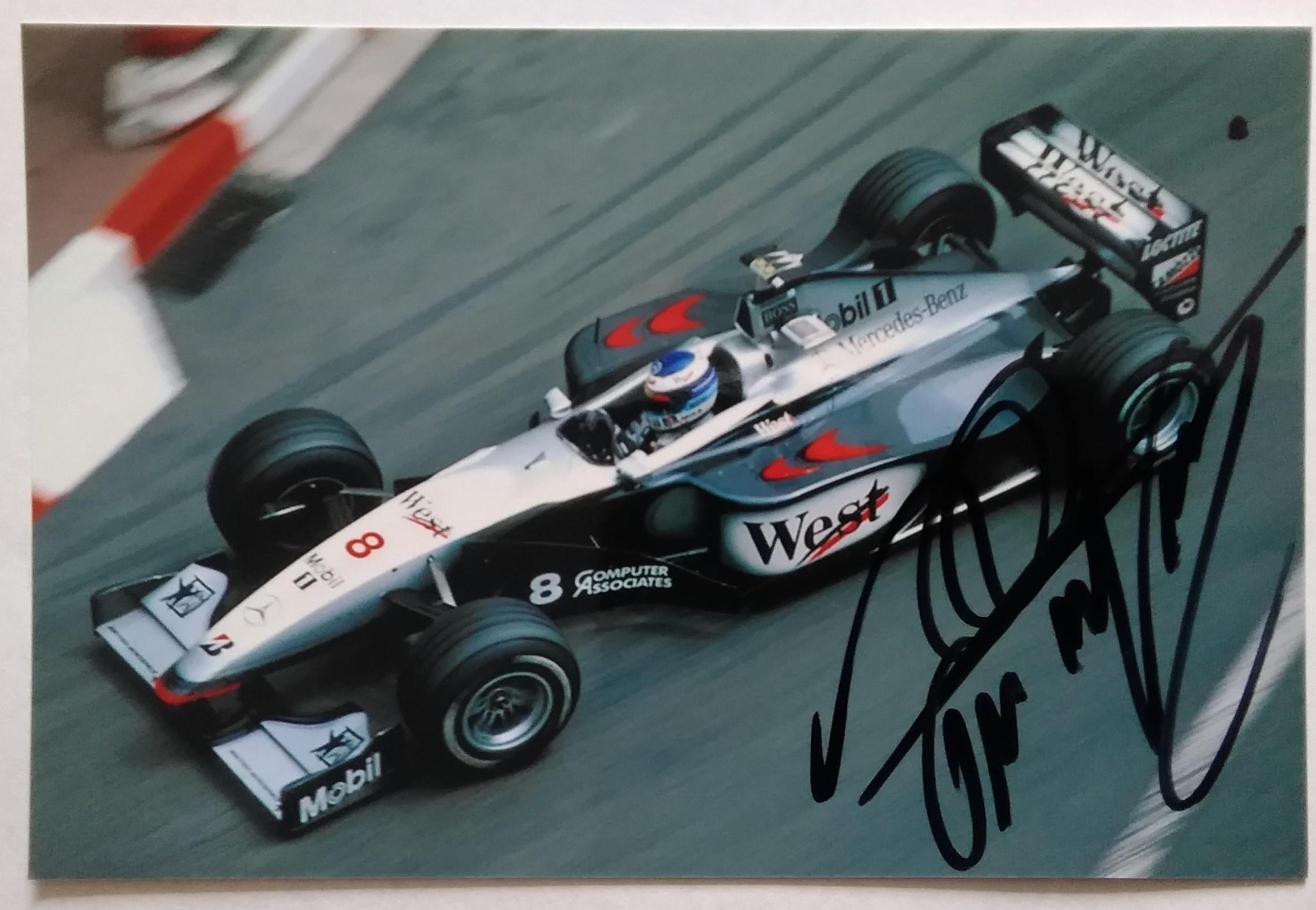 Mika Hakkinen McLaren 1998