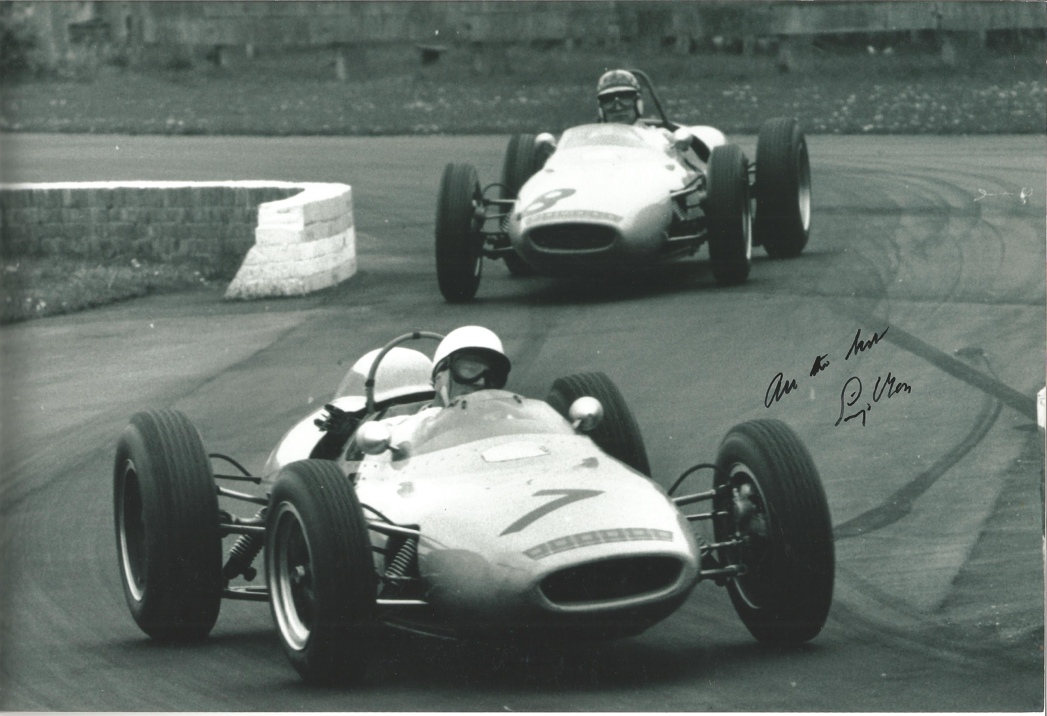 Stirling Moss Lotus -Signed Photo