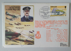 Bader Signed Trafford Leigh Mallory FDC