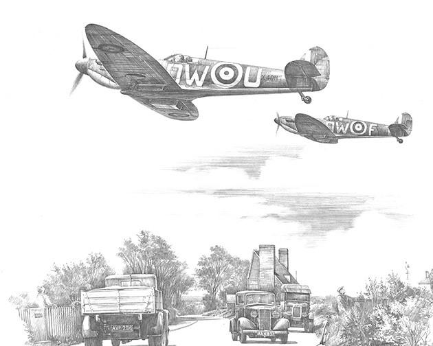 B Flight Scramble by Nicolas Trudgian