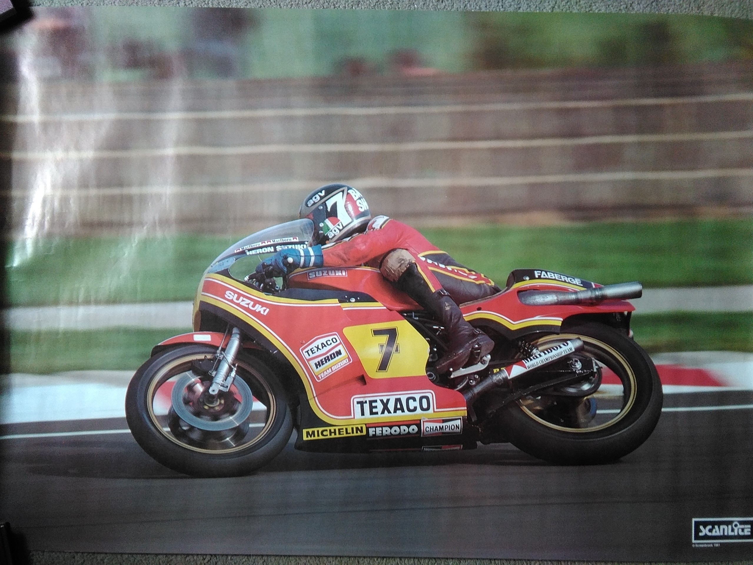 Barry Sheene Original 1979 Poster