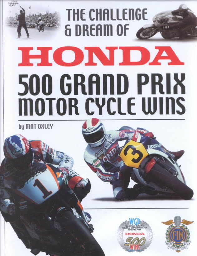 Honda 500 GP Wins-M.Oxley