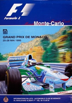 Original Monaco1995 Poster
