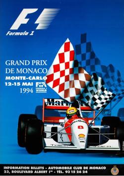 Original 1994 Monaco Poster