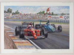 'Ferrari 100' by Alan Fearnley