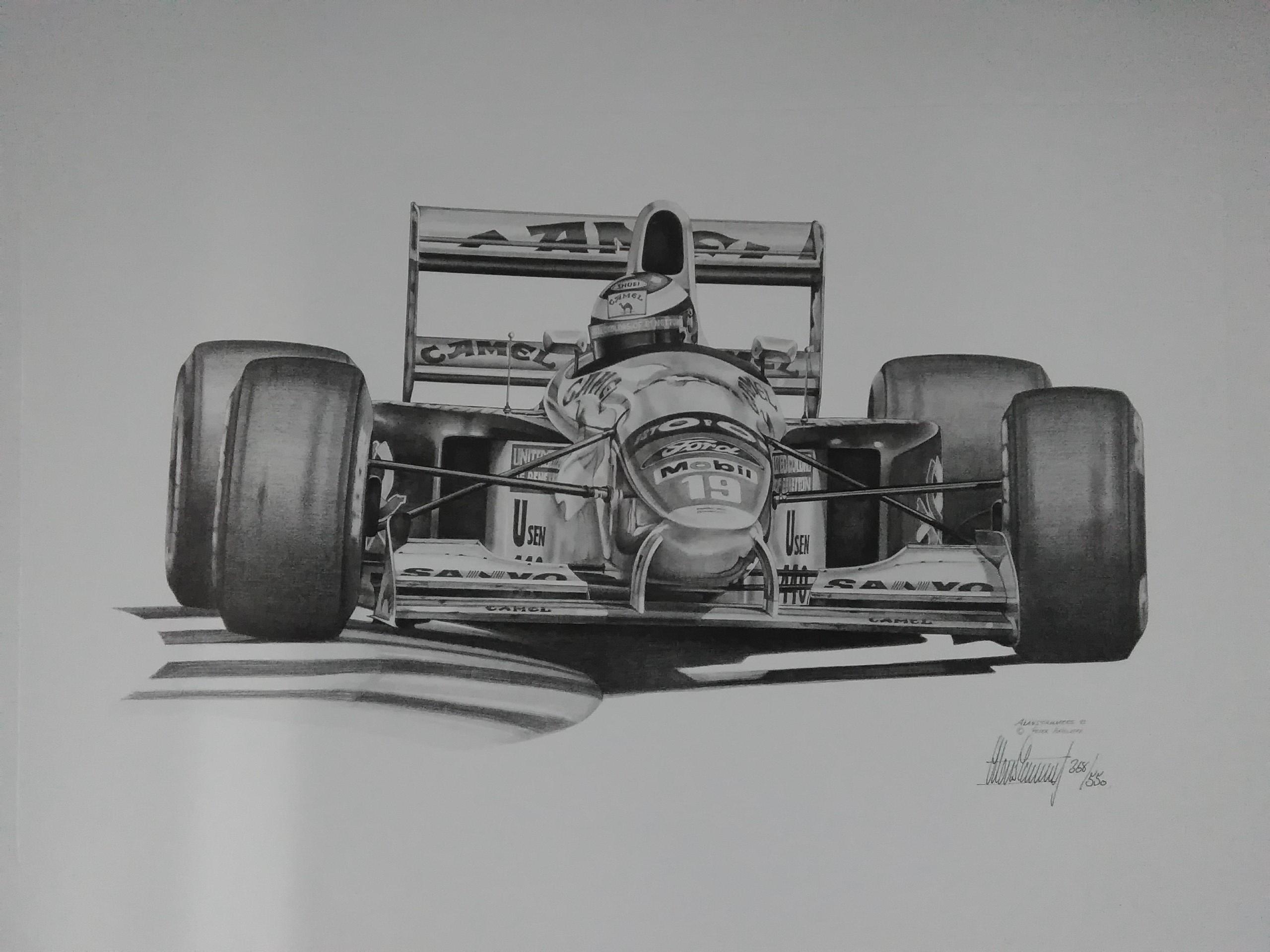 Michael Schumacher-1992 Canadian GP-A.Stammers