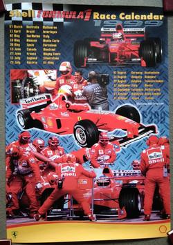 Ferrari-Shell 1999 Poster