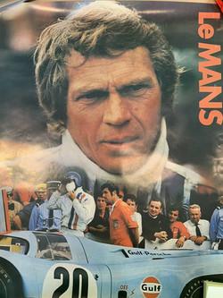 Le Mans Poster-Steve Mcqueen