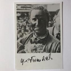 Manfred von Brauchitsch Signed Photo