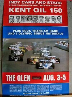 1979 Kent Oil 150 Watkins Glen Indy Car.