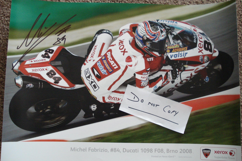 Michel Fabrizio 2008 Brno signed