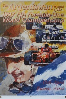 1997 Argentinian GP Poster