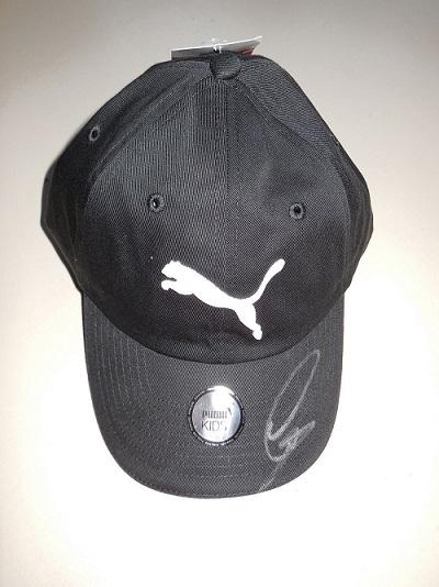 Hamilton Signed Puma Cap