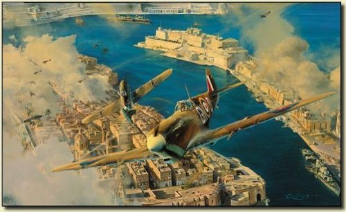 Robert Taylor Malta George Cross