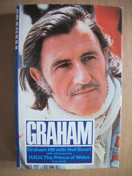 Graham- Graham Hill Hardback Book