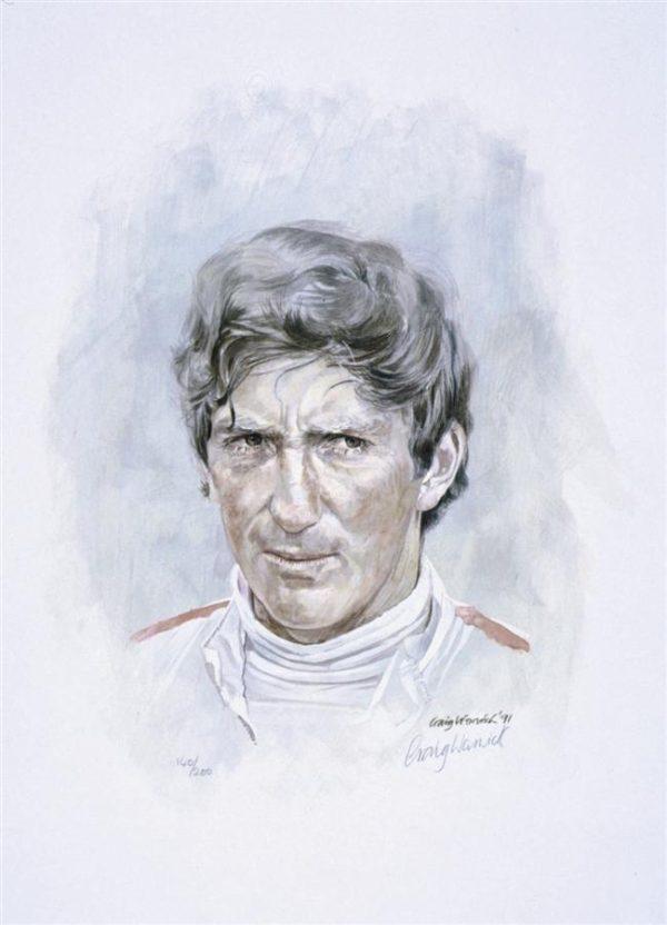 Jochen Rindt by Craig Warwick