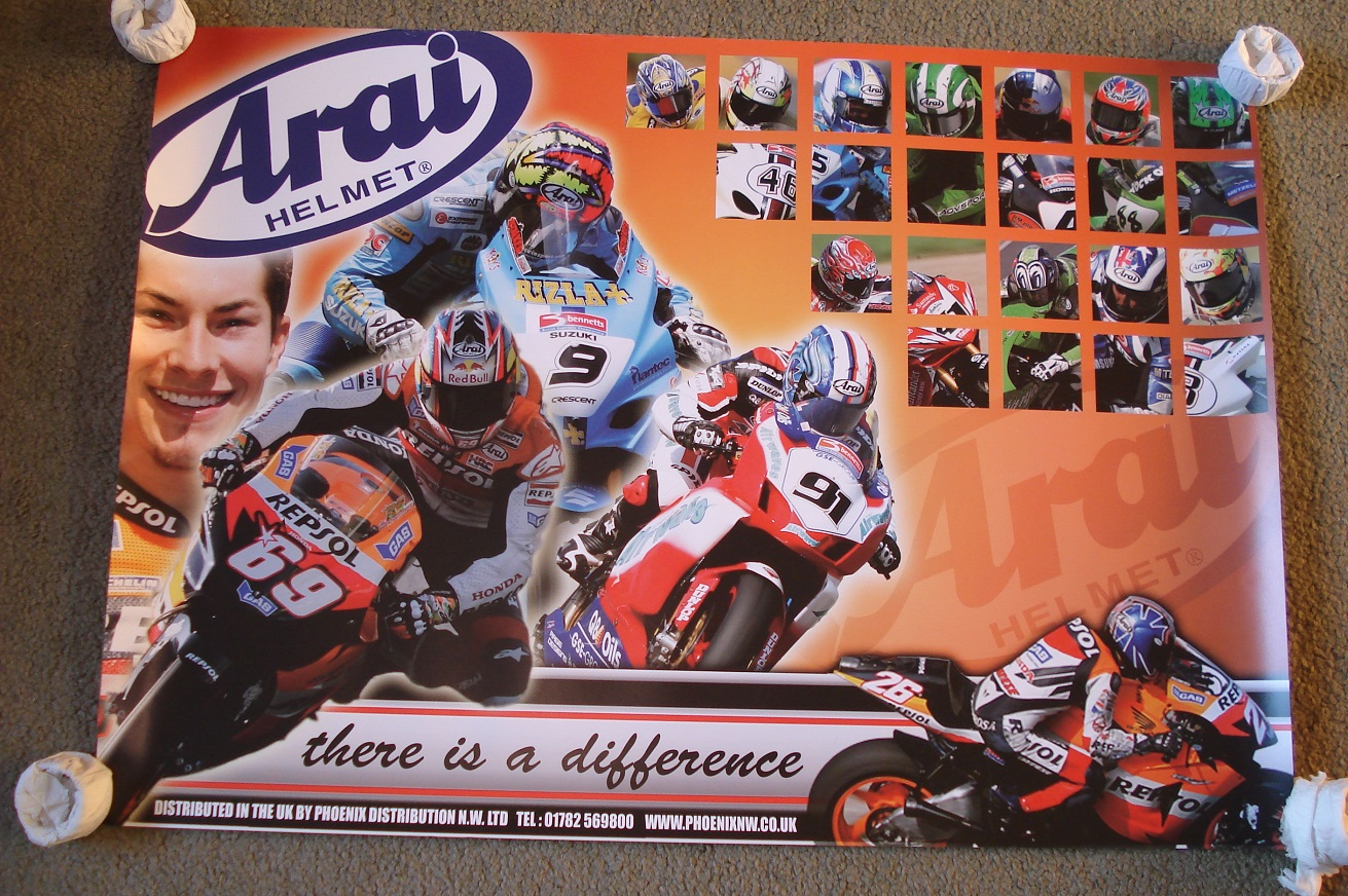 Arai Helmets Poster