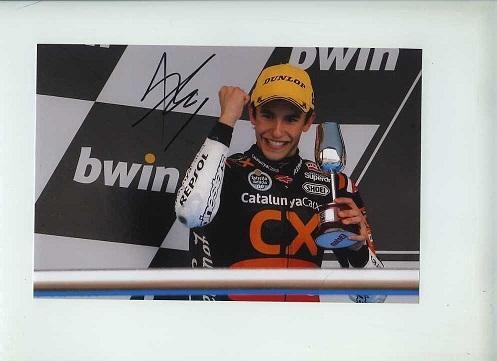 Marc Marquez Signed Photo