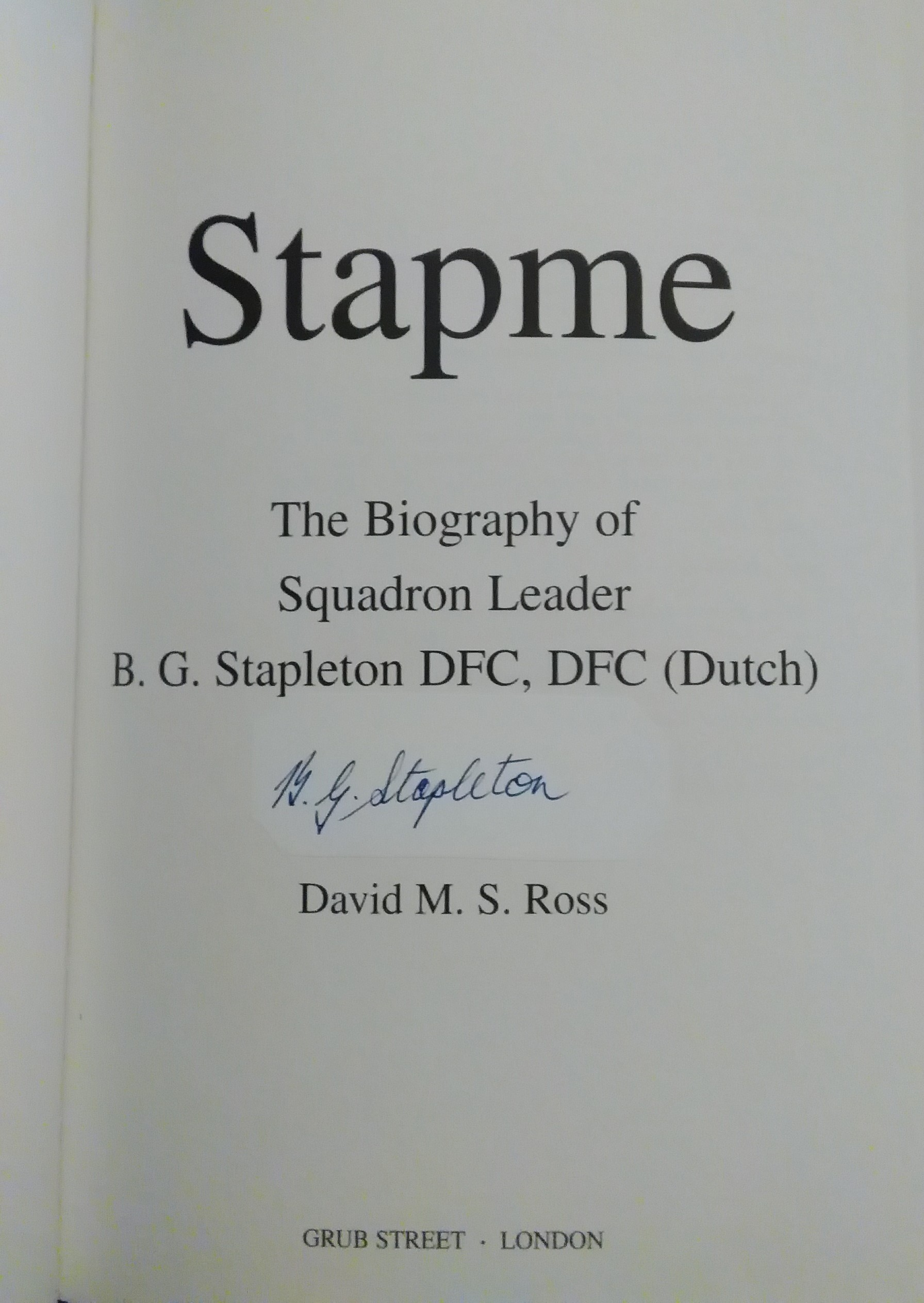 Stapme- By David Ross