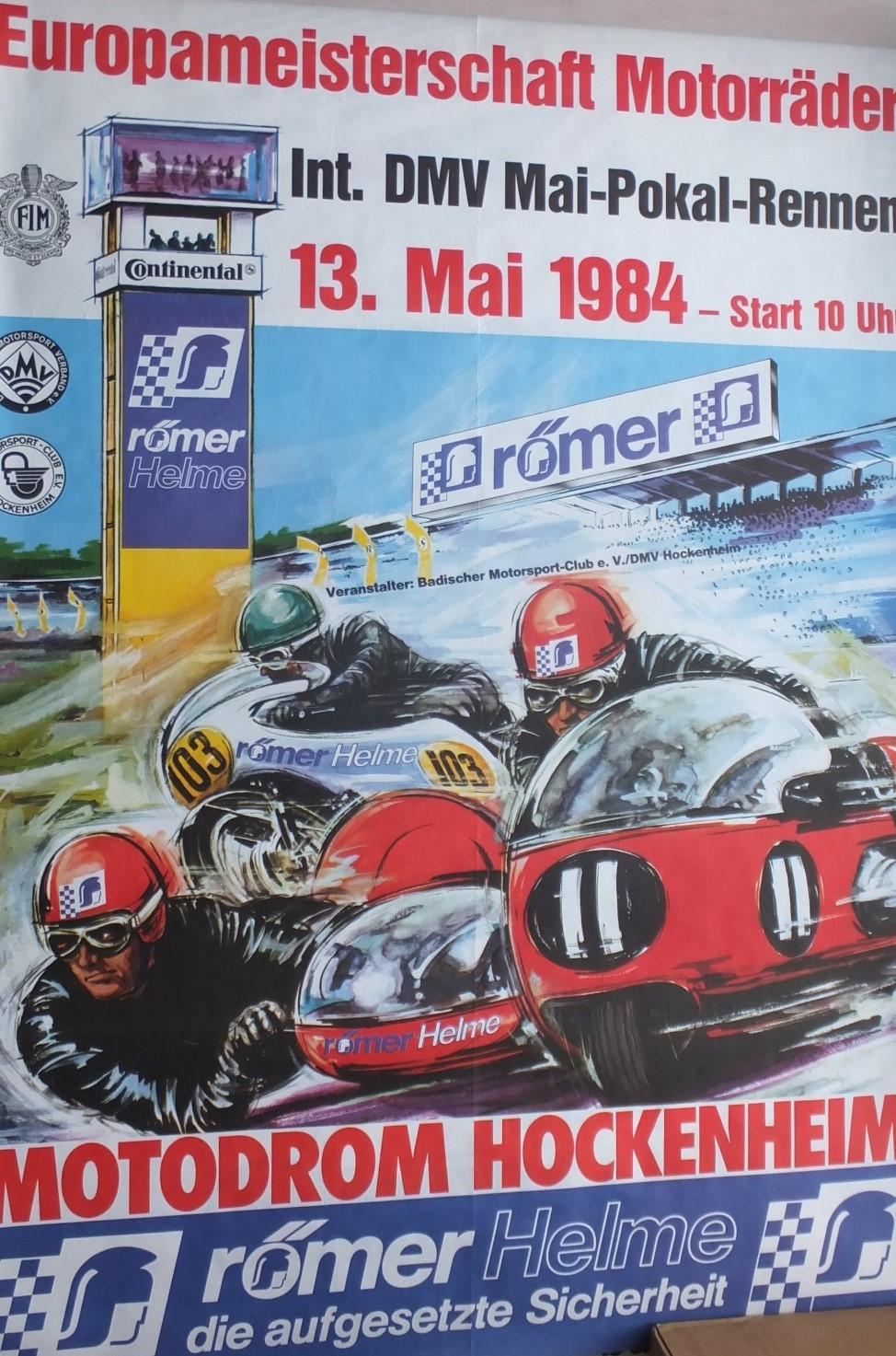 1984 Hockenheim Poster