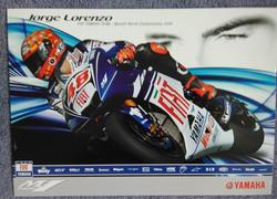 Jorge Lorenzo 2008 Team Poster