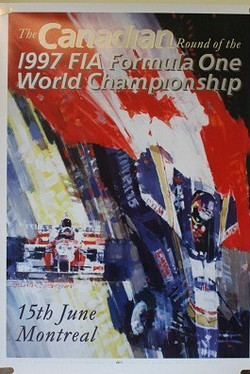 1997 Canadian GP Poster